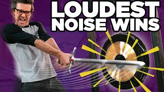 Who Can Make The Loudest Noise? (Challenge)