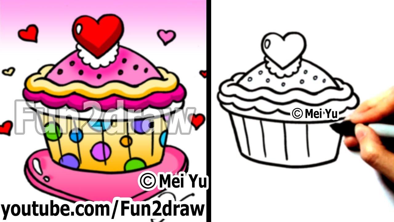 Free fun2draw fun food coloring pages
