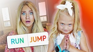 We let 5 year old Everleigh control her pregnant mom's life for the day...