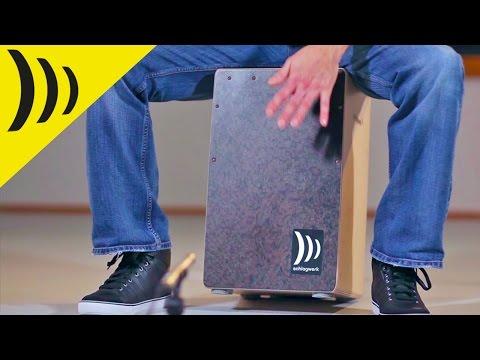 Schlagwerk Cajon Burl Veneer CP4007 | Buy at Footesmusic