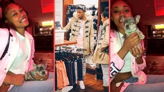 NBA YoungBoy Buys His Girlfriend Jania Puppy As Early Birthday Gift NBA YoungBoy Girlfriend Reacts