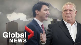 Ontario challenges federal carbon tax in court: Day 1
