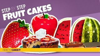 4 Summer Fruit CAKES | Compilation | How To Cake It