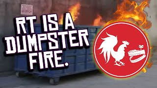 Rooster Teeth is an Absolute DUMPSTER FIRE Right Now.