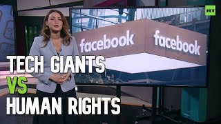 Google and Facebook's business models threaten human rights - report
