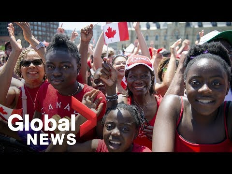 Thousands gather on Parliament Hill to celebrate Canada Day