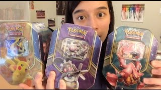AWESOME NEW BATTLE HEART TIN OPENING: PIKACHU EX, MAGEARNA EX, VOLCANION EX