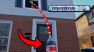 Insane Coke and Mentos Trick Shot | That's Amazing