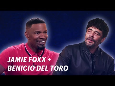 Jamie Foxx Interviews Benicio Del Toro || OFF SCRIPT a Grey Goose Production