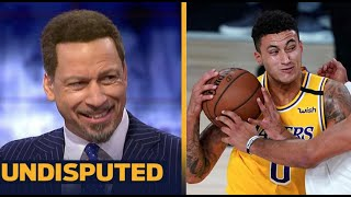 UNDISPUTED | Chris Broussard react to Kuzma's Buzzer Beater help Lakers def Nuggets 124-121