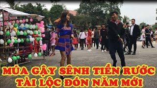 Lễ hội múa sênh tiền rước tài lộc đón Tết cổ truyền, Money dancing festival