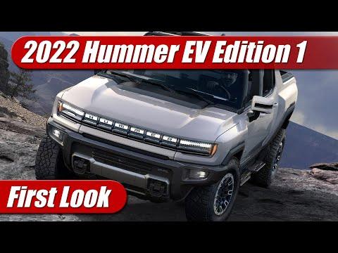 2022 GMC Hummer EV Edition 1: First Look