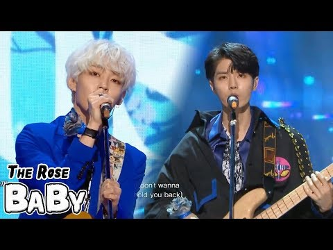 [HOT] THE ROSE - BABY, 더로즈 - 베이비 Show Music core 20180421