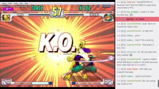 Fightcade SF3 casuals vs Tenren 2016/12/25