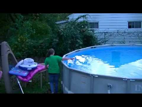 Winterizing Our Intex Above Ground Pool Chemicals And