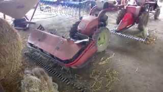 Старые швейцарские мотоблоки на украинской ферме