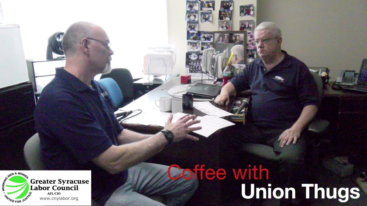 The CNYALF's 'Coffee with Union Thugs' Talking About NYS's Constitutional Convention
