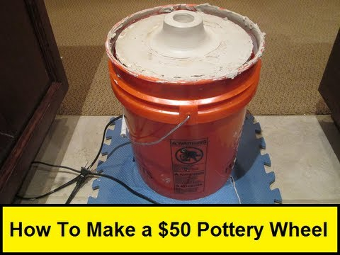 How To Make A 50 Pottery Wheel Howtolou Com Youtube
