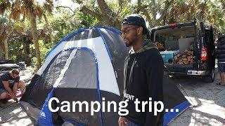 This Big House: Spring Break Camping Trip: Family Vlog