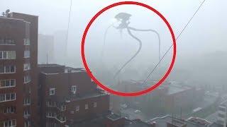 5 Cổ Máy Ngoài Hành Tinh TRIPOD Xuất Hiện Được Camera Quay Lại    5 Alien Tripod Caught On Camera