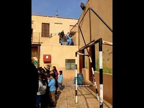 خطة اخلاء مدرسة ابو الفرج - إدارة غرب القاهرة التعليمية