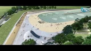 Le futur complexe de surf à Paris ouvrira en 2018