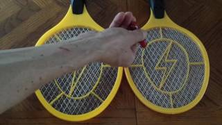 "Harbor Freight Electric Fly Swatter - ""AA"" vs ""D"""