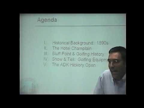 Bluff Point History Matt Dodds 6-7-04