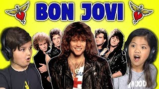 KIDS REACT TO BON JOVI
