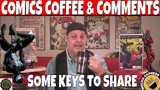Comics Coffee & Comments #21, Wolverine Comics and other Key Comic books to get.