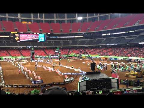 Atlanta SX 2014 250 Practice