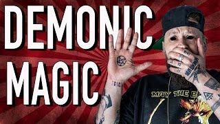 REACTING TO DEMONIC MAGIC!!