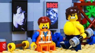 LEGO MOVIE 2 Gym Prank FAIL Toy Animation