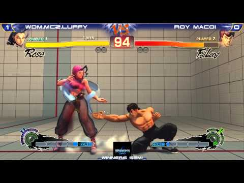 Baixar Dreamhack Valencia '13 SSFIVAE2012 -Winners Semi- WDM.MCZ|Louffy [Rose] vs Roy Macoi [Fei Long]