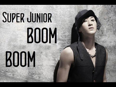 Super Junior - Boom Boom (English Lyrics)