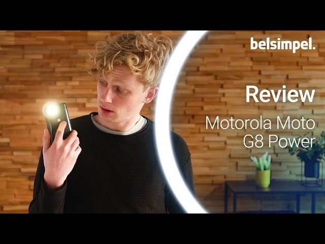 Belsimpel-productvideo voor de Motorola Moto G8 Power Blue