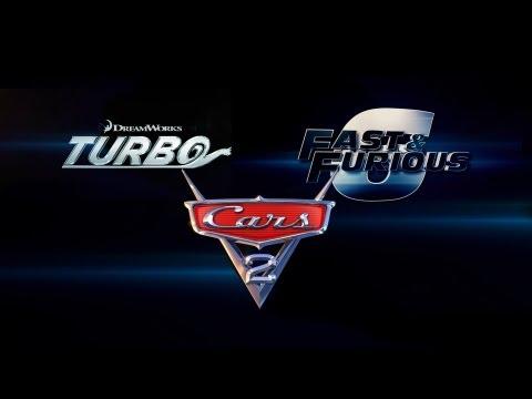 'Turbo' - 'Fast & Furious 6' - 'Cars 2' Mashup