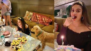 Nidhhi Agerwal birthday celebration video: Niharika Konide..