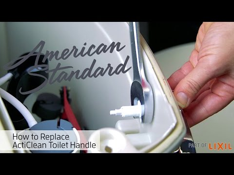 Toilet Handle Replacement – ActiClean Self-Cleaning Toilet by American Standard