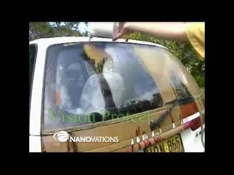 Nanotechnology windscreen coating