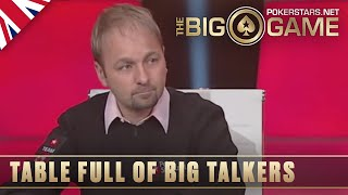 The Big Game S1 ♠️ W1, E1 ♠️ Featuring Negreanu, Brunson, Laak and more ♠️ PokerStars UK