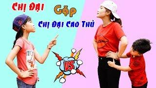 Chị Đại Gặp Chị Đại Cao Thủ - Giải Trí Cho Bé ♥ Min Min TV Minh Khoa