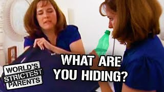 Strict Mom Goes into Teens Stuff and Finds out They are Lying | World's Strictest Parents