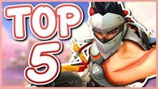 Overwatch - TOP 5 BEST PASSIVE ABILITIES