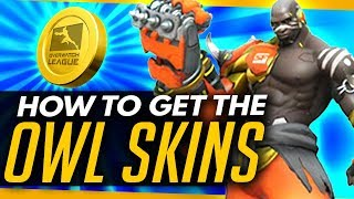 Overwatch | LEAGUE SKINS RELEASE INFO + HOW TO GET THEM [Coming Soon]