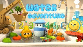 Learn to Count with Max the Glow Train and his Team | The Amazing Water Adventure
