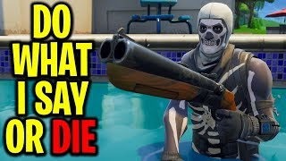 "Playing ""CRISPY SAYS"" In Fortnite Battle Royale"