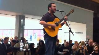 Dave Matthews - 11/18/10 - Full Solo Show - Bellevue Mall - Seattle, WA