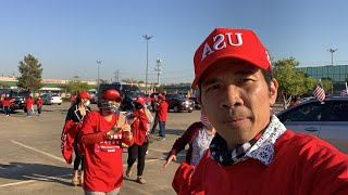 Vietnammese Rally Trump 2020 Houston -TX