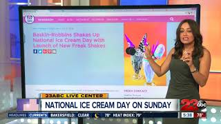 National Ice Cream Day deals